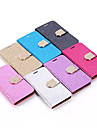 Bling Diamond PU Leather Case for Samsung Galaxy S6 Galaxy S Series Cases / Covers