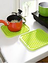 Kitchen Tools Plastic Heat-insulated Pot Holder & Oven Mitt Cooking Utensils 1pc
