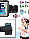 Huelle Fuer iPhone 6s Plus iPhone 6 Plus iPhone 6s iPhone 6 Universell mit Sichtfenster Armband Armband Volltonfarbe Weich Textil fuer