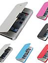 cuir PU & pc cas de couverture pour iphone 5c