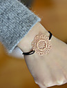 Fashion Women Star Cut Out Stamping Elastic Bracelet