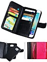Case For Samsung Galaxy Samsung Galaxy Case Card Holder Wallet Magnetic Full Body Cases Solid Color Soft Genuine Leather for S8 Plus S8
