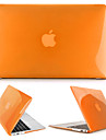 MacBook Case for Solid Color Transparent Plastic MacBook Air 13-inch