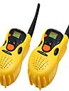2pcs brinquedos de plastico portateis walkie-talkie