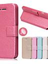 шелк картины с карты мешок полный случае корпус для iPhone 4 / 4s (ассорти цветов)