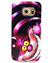 Case For Samsung Galaxy Samsung Galaxy Case Pattern Back Cover Cat TPU for S6 edge