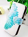 Para Samsung Galaxy Capinhas Case Tampa Carteira Porta-Cartão Com Suporte Flip Corpo Inteiro Capinha Flor Couro PU para Samsung S2