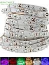 SENCART 5m Bandes Lumineuses LED Flexibles 300 LED Blanc Chaud / Blanc / Rouge Decoupable / Intensite Reglable / Connectible 12V