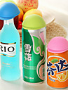 couvercle de la bouteille étanche / couvercle environnement souple pour bouteilles (couleur aléatoire)