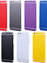 Full Body Side+Top+Back+Button Pure Color Skin Sticker for iPhone 6 Plus(Assorted Colors)