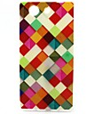 For Sony Case Pattern Case Back Cover Case Geometric Pattern Soft TPU for Sony Sony Xperia Z3 Compact / Sony Xperia M4 Aqua