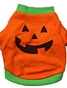 Cat / Dog Costume / Shirt / T-Shirt Orange Dog Clothes Summer Cosplay / Halloween