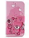 Para Samsung Galaxy Capinhas Porta-Cartão / Carteira / Com Suporte / Flip Capinha Corpo Inteiro Capinha Desenho Couro PU SamsungS6 edge /