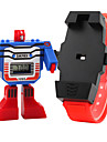 SKMEI Digital Wrist Watch LCD Rubber Band Charm Fashion Blue Red Grey Yellow