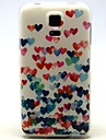 For Samsung Galaxy Case Pattern Case Back Cover Case Heart TPU Samsung S5 Mini / S5 / S4 Mini / S4 / S3 Mini / S3