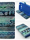 Coque Pour Samsung Galaxy Samsung Galaxy Coque Porte Carte Portefeuille Avec Support Clapet Coque Integrale Formes Geometriques faux cuir