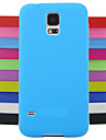 Solid Color Jelly Silicone Case Design Pattern For Samsung Galaxy S4 Mini I9190