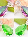 Femme Pendentif Forme Geometrique Cristal Plaque argent bijoux de fantaisie Bijoux Pour Mariage Soiree Quotidien Decontracte Sports
