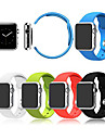 Sport Watch Band for Apple Watch 3 38mm 42mm Silicone Watch Band With Connector