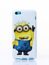 One Of The Small Yellow People Pattern TPU Soft Case for iPhone5C