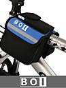 BOI® Bike Bag 1.9LBike Handlebar Bag Waterproof / Waterproof Zipper / Shockproof / Wearable Bicycle Bag 600D Ripstop / Cloth Cycle Bag