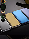 Coque Pour Apple iPhone 8 Plus iPhone 6 iPhone 6 Plus Miroir Clapet Coque Integrale Couleur unie Dur Metallique pour iPhone 8 Plus iPhone