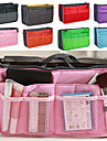 Women\'s Fashion Casual Multifunctional Mesh Cosmetic Makeup Bag Storage Tote Organizer 8 Color