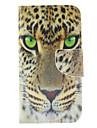 Pour Samsung Galaxy Coque Porte Carte / Portefeuille / Avec Support / Clapet Coque Coque Integrale Coque Animal Cuir PU Samsung S6
