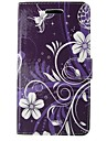 Case For Apple iPhone 5 Case Wallet / Card Holder / with Stand Full Body Cases Lace Printing / Flower Hard PU Leather for iPhone SE / 5s