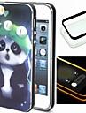 For iPhone 5 Case LED Flash Lighting Case Back Cover Case Animal Soft TPU iPhone SE/5s/5