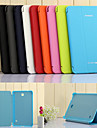 Case For Samsung Galaxy Samsung Galaxy Case with Stand Auto Sleep / Wake Flip Origami Full Body Cases Solid Color PU Leather for Tab 4