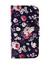 Coque Pour Samsung Galaxy Samsung Galaxy Coque Porte Carte Portefeuille Avec Support Clapet Coque Integrale Fleur faux cuir pour J5