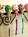 Animal Shape Plastic Hanging Toothbrush Holders(Random Color)