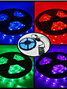5m RGB Strip Lights 300 LEDs RGB Remote Control / RC Cuttable Dimmable Color-Changing Suitable for Vehicles 12V