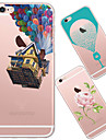 Case For iPhone 5 Apple iPhone 5 Case Ultra-thin Translucent Pattern Back Cover Cartoon Soft TPU for iPhone SE/5s iPhone 5