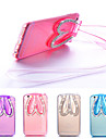 For iPhone 6 Case / iPhone 6 Plus Case with Stand / Transparent Case Back Cover Case 3D Cartoon Soft TPUiPhone 6s Plus/6 Plus / iPhone