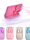 Para Capinha iPhone 6 / Capinha iPhone 6 Plus Com Suporte / Transparente Capinha Capa Traseira Capinha Desenho 3D Macia TPUiPhone 6s
