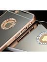 diamantes de luxo espelho para o iPhone 5 / 5s (cores sortidas)
