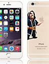 Pouzdro Uyumluluk Apple iPhone 6 Plus / iPhone 6 Şeffaf / Temalı Arka Kapak Oynanan Apple Logosu Sert PC için iPhone 6s Plus / iPhone 6s / iPhone 6 Plus