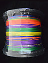 1000M Anmnka Colorful 8Stand Brand  Super Strong Japan Multifilament PE Braided Fishing Line 8 ~ 80LB
