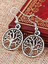 Drop Earrings Alloy Punk Silver Jewelry Party Daily 1pc