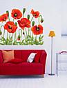 크리스마스 플로럴 휴일 벽 스티커 플레인 월스티커 데코레이티브 월 스티커,비닐 홈 장식 벽 데칼 For 벽