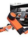 자동차 에어컨의 360도 회전 포트 보편적 인 이동 전화 홀더 (임의의 색상을) 배출