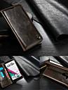 케이스 제품 LG LG케이스 카드 홀더 지갑 스탠드 플립 풀 바디 한 색상 하드 천연 가죽 용 LG G4