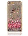 Для Кейс для iPhone 6 / Кейс для iPhone 6 Plus Движущаяся жидкость Кейс для Задняя крышка Кейс для Сияние и блеск Твердый PCiPhone 6s