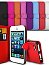 Elegant PU Leather Case for iPhone 5/5S