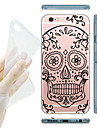 For iPhone 6 etui iPhone 6 Plus etui Transparent Mønster Etui Bagcover Etui Tegneserie Blødt TPU for iPhone 6s Plus/6 Plus iPhone 6s/6