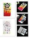 For iPhone 5 Case Card Holder / Flip Case Full Body Case Dream Catcher Hard PU Leather iPhone SE/5s/5 / iPhone 4s/4
