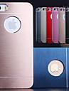 df® роскошь сплошной цвет матовый алюминиевый корпус для iphone 5 / 5s