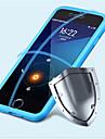 용 아이폰6케이스 / 아이폰6플러스 케이스 플립 케이스 풀 바디 케이스 단색 소프트 실리콘 iPhone 6s Plus/6 Plus / iPhone 6s/6
